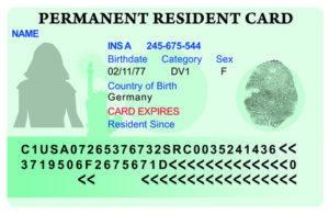 permanent green card
