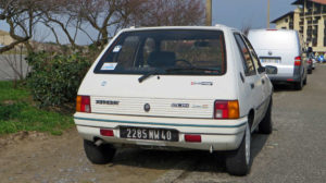 french car peugeot 205